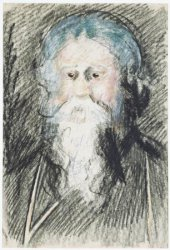 Rabindranath Tagore Sketched by Dutch artist Martin Monickendam on the occasion of a lecture tour in September 1920 © Stadsarchief Amsterdam